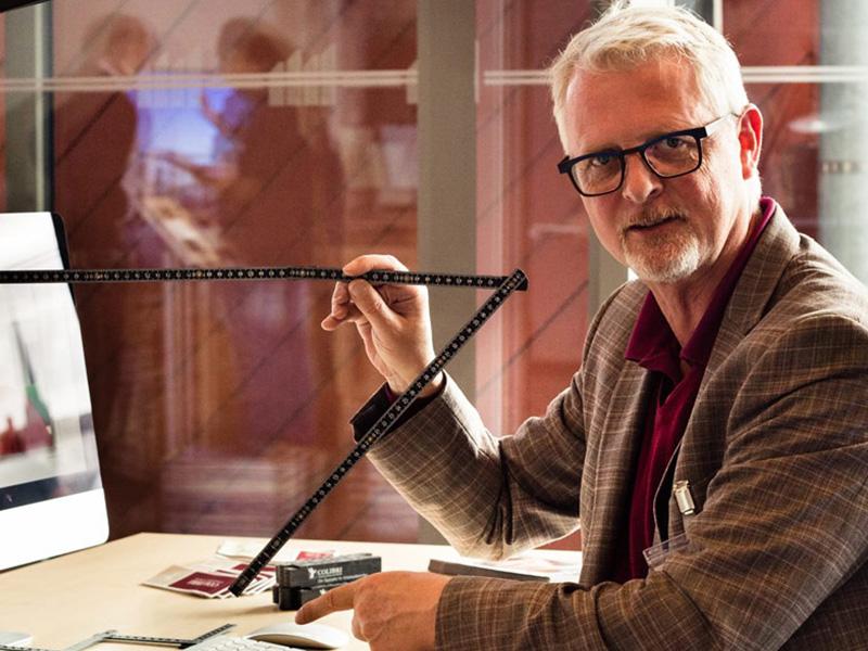 Walter Hermann Colibri Lübeck Abstandmessung am Arbeitsplatz