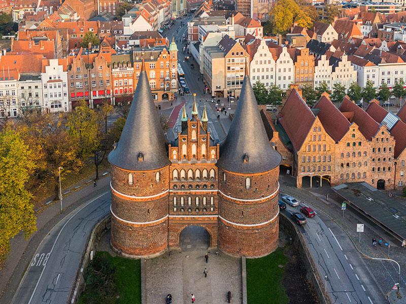 Designtage Lübeck 2018 Colibri Zoom360 Holstentor