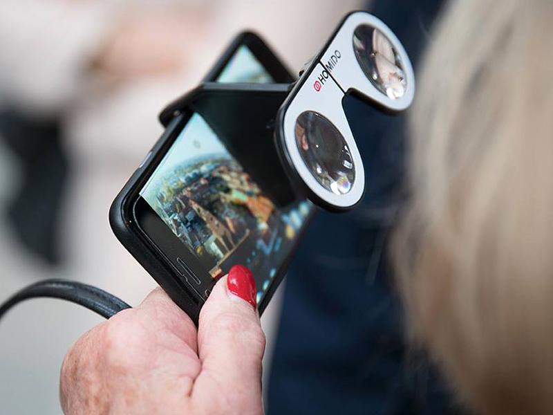 Designtage Lübeck 2018 Colibri Zoom360 VR Brille