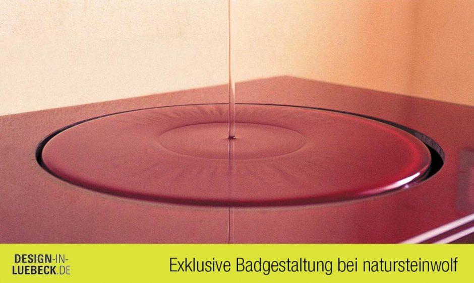 Ablaufsystem baqua bei Natursteinwolf Design in Lübeck