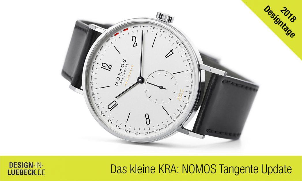 Details der Nomos Tangente Update auf den Designtagen Lübeck bei Das kleine KRA