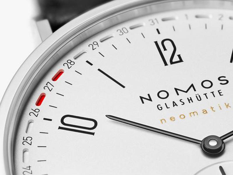 Das kleine KRA präsentiert die Nomos Tangente Update auf den Designtagen Lübeck - Detailansicht