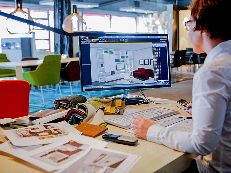 Virtuelle 3D-Planung bei Inform Einrichtungen