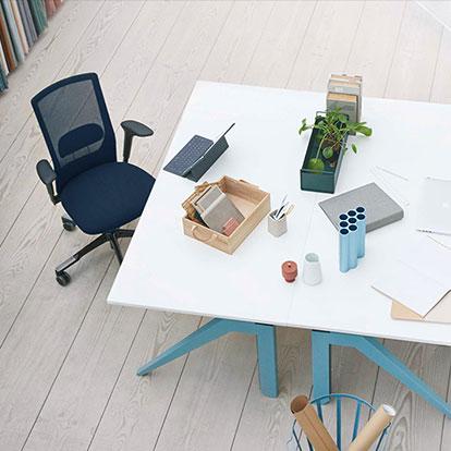Sitz-art Lübeck HAG Futu mesh Büro Designtage 2018