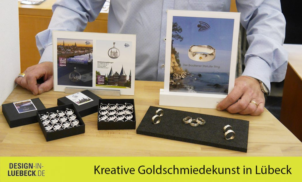 Das kleine KRA - Kreative Goldschmiedekunst in Lübeck
