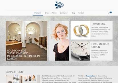 Das kleine KRA Goldschmiede Lübeck Online-Shop